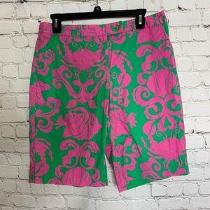 Lilly Pulitzer Vibrant Bermuda Shorts